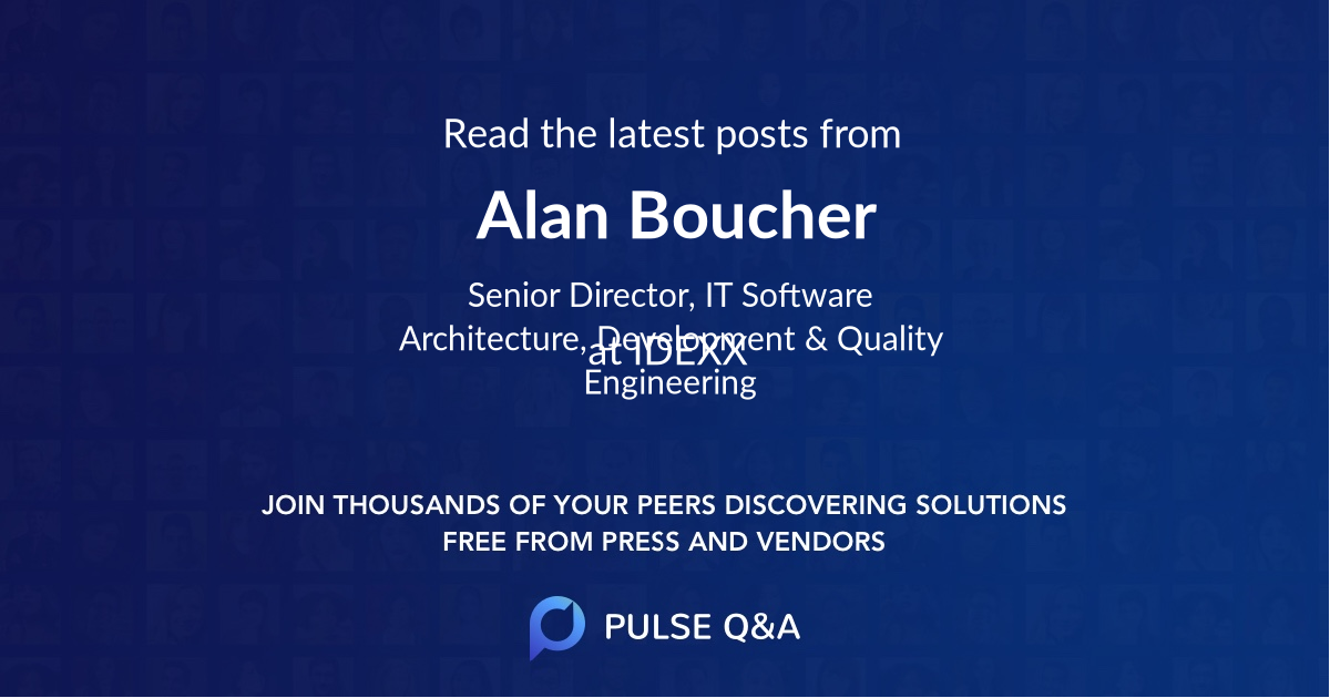 Alan Boucher