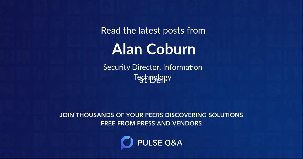 Alan Coburn