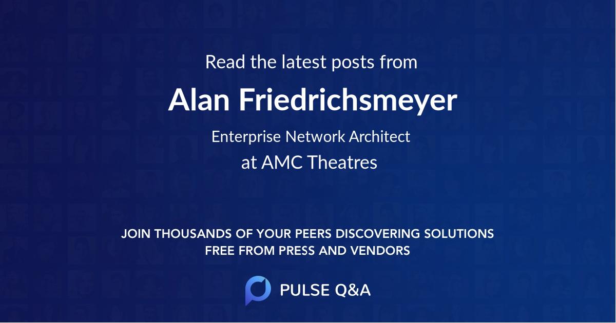 Alan Friedrichsmeyer