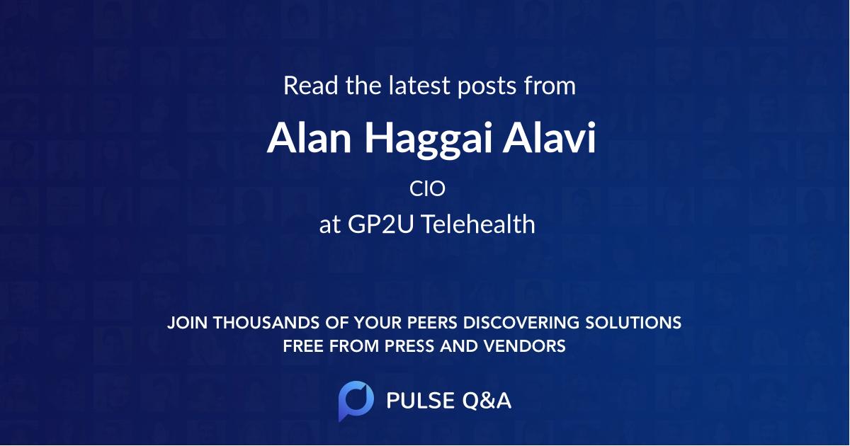 Alan Haggai Alavi