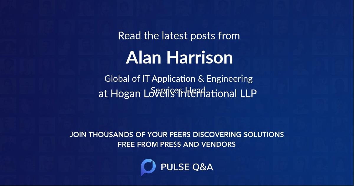 Alan Harrison