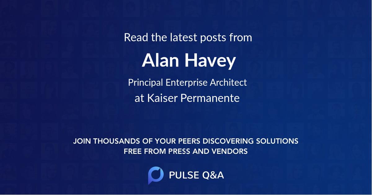 Alan Havey
