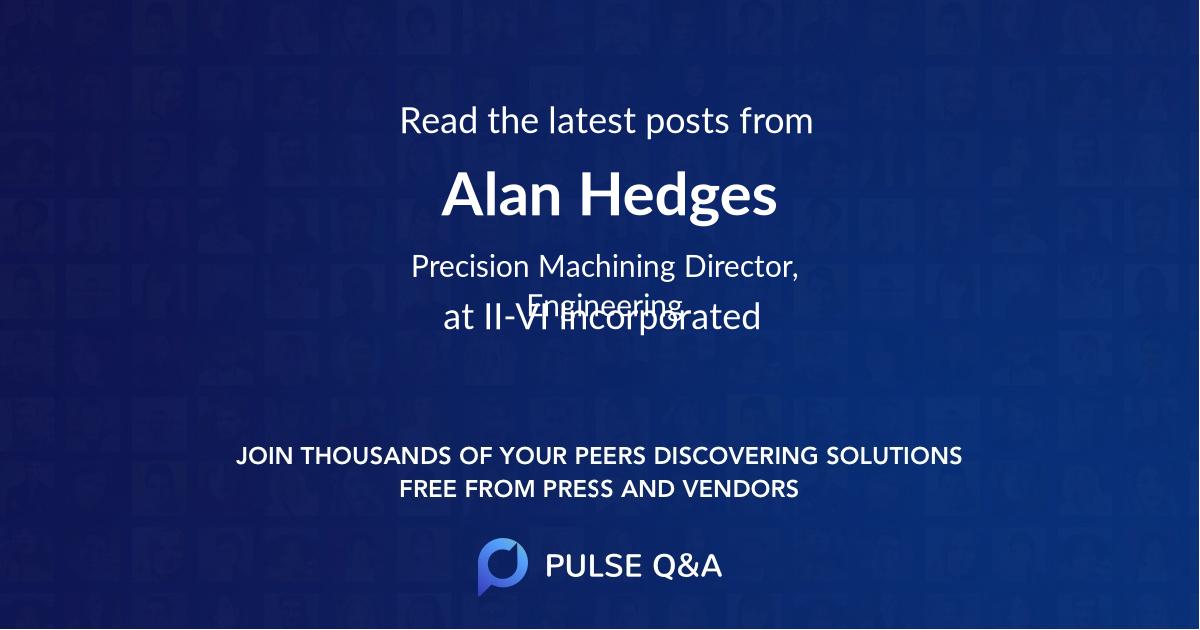 Alan Hedges