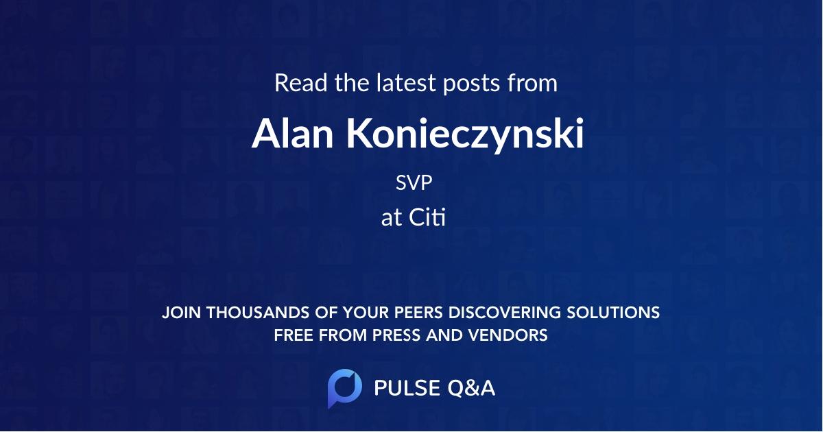 Alan Konieczynski