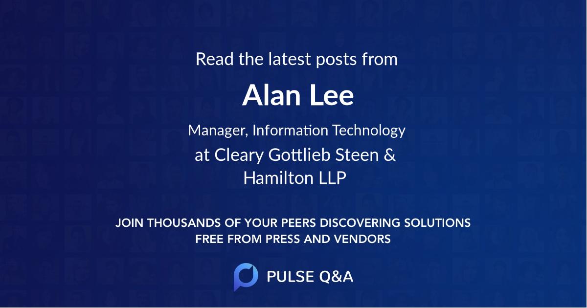 Alan Lee