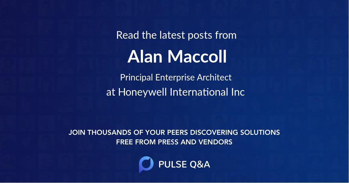 Alan Maccoll