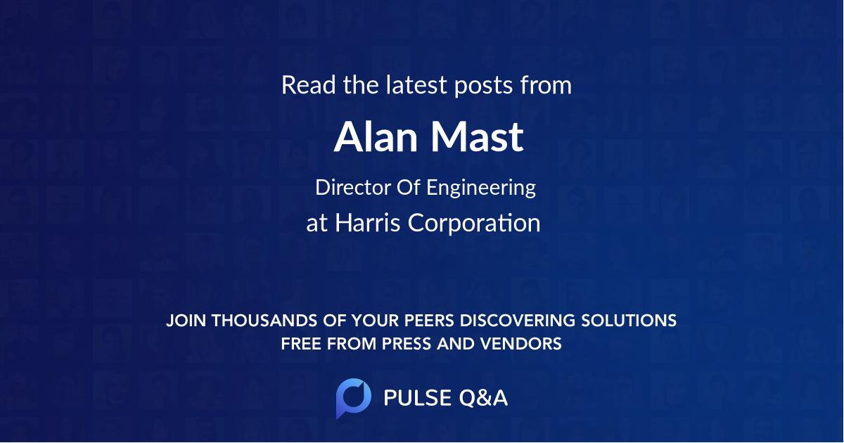 Alan Mast