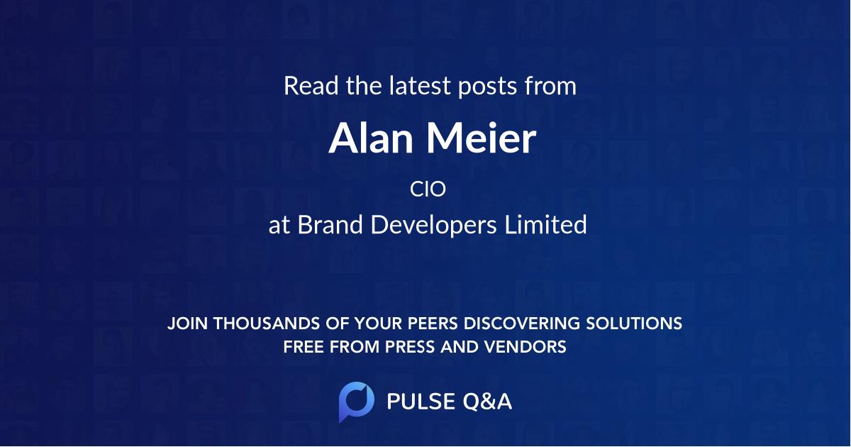 Alan Meier