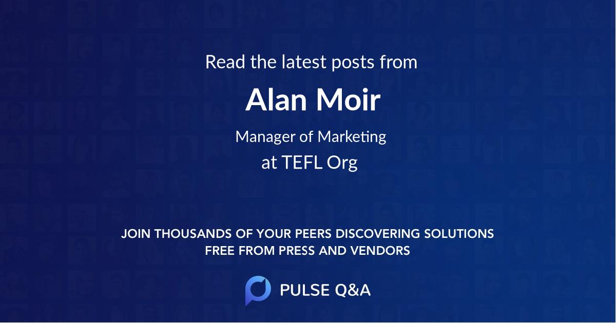 Alan Moir