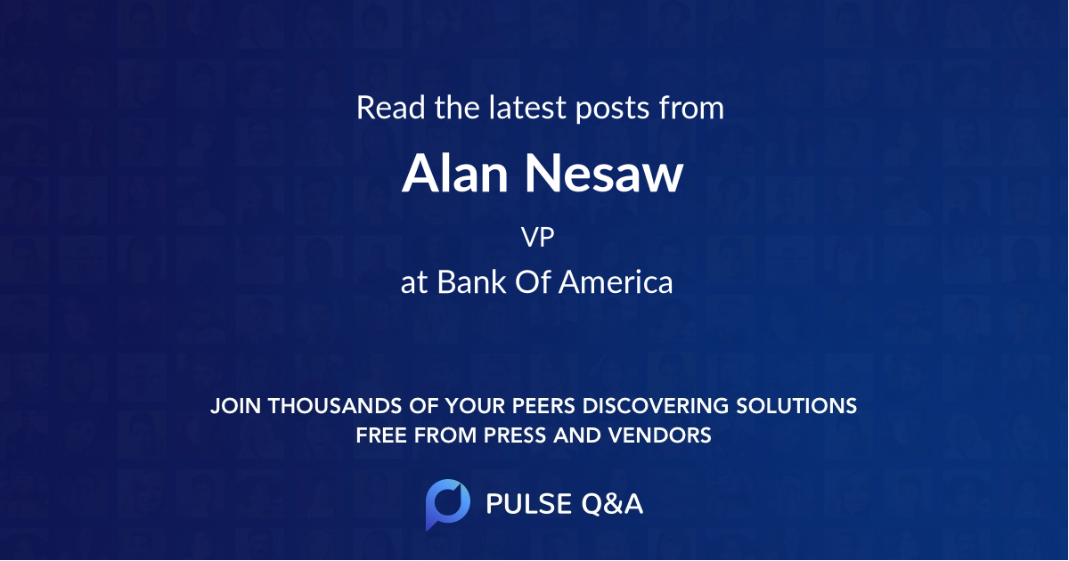 Alan Nesaw