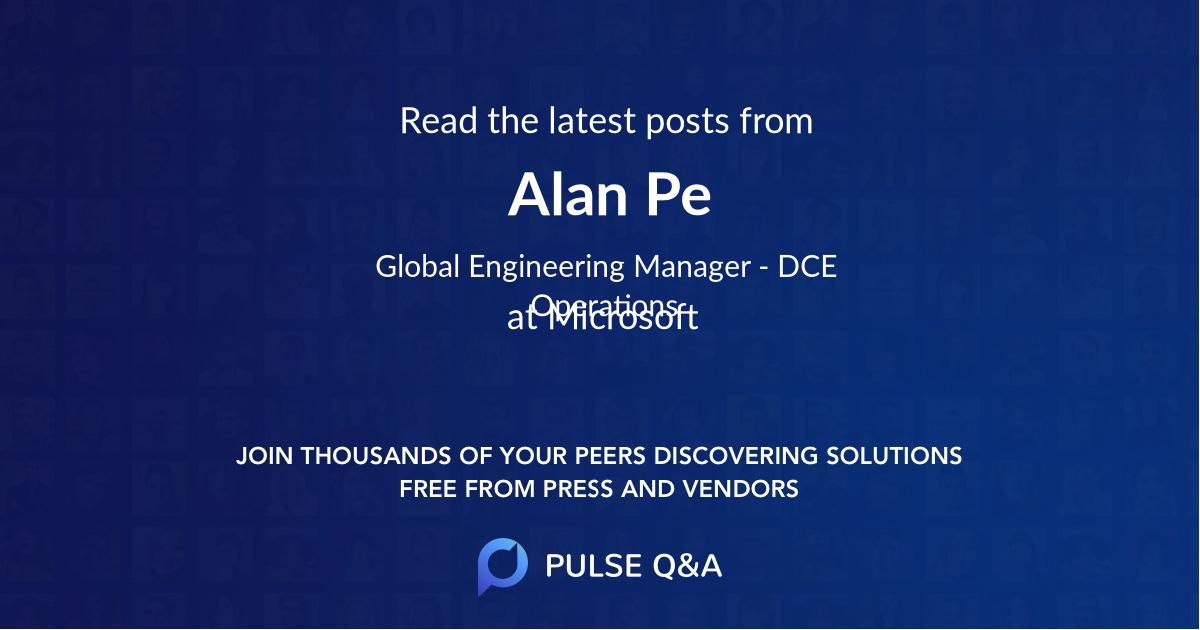 Alan Pe