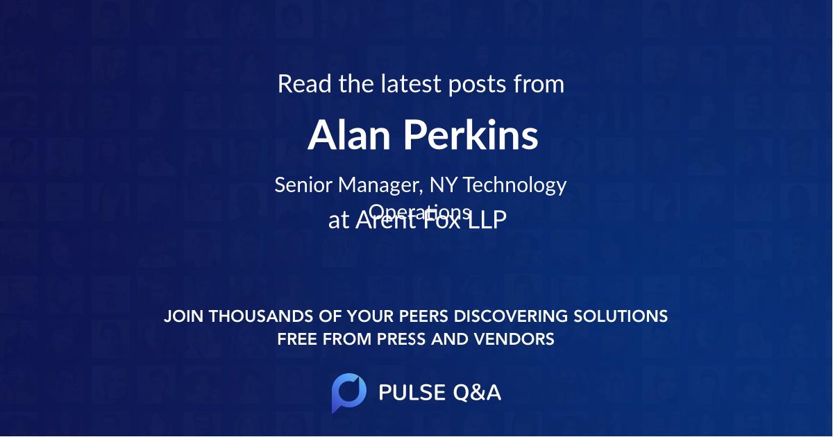 Alan Perkins