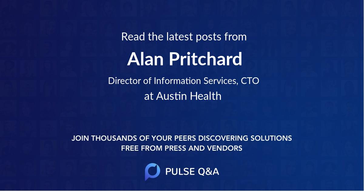 Alan Pritchard