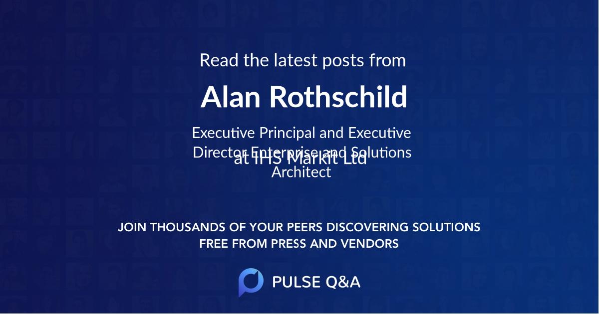 Alan Rothschild