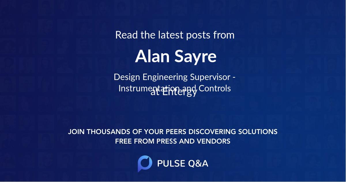 Alan Sayre
