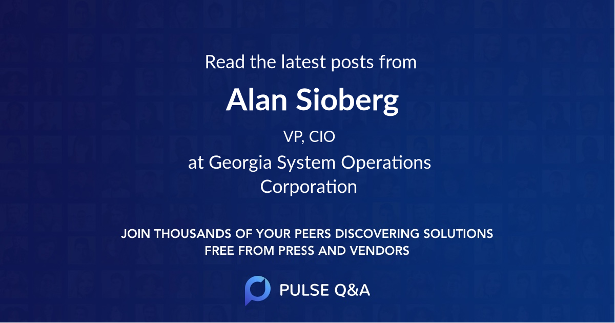 Alan Sioberg