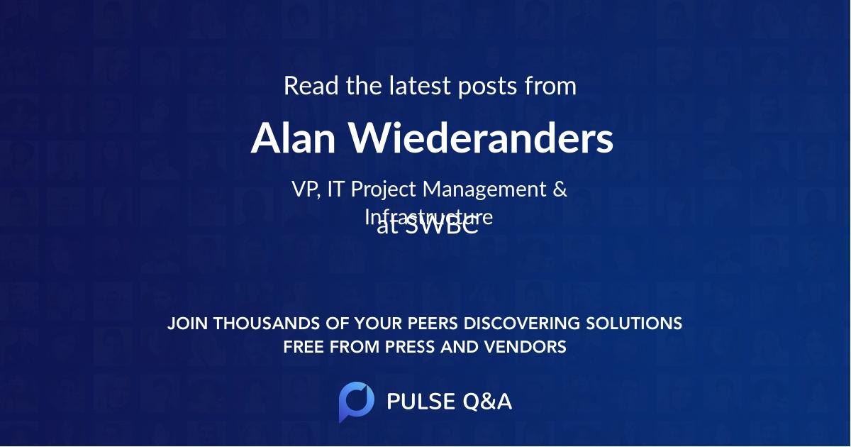 Alan Wiederanders