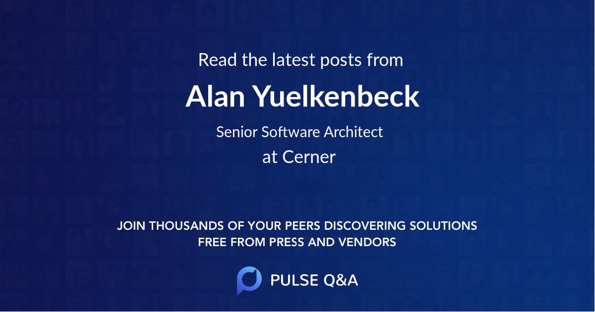 Alan Yuelkenbeck