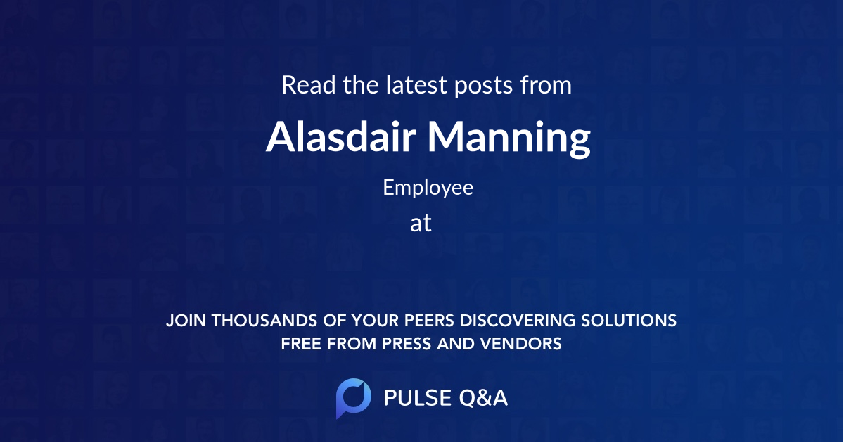 Alasdair Manning
