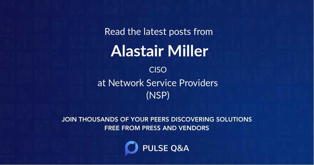 Alastair Miller