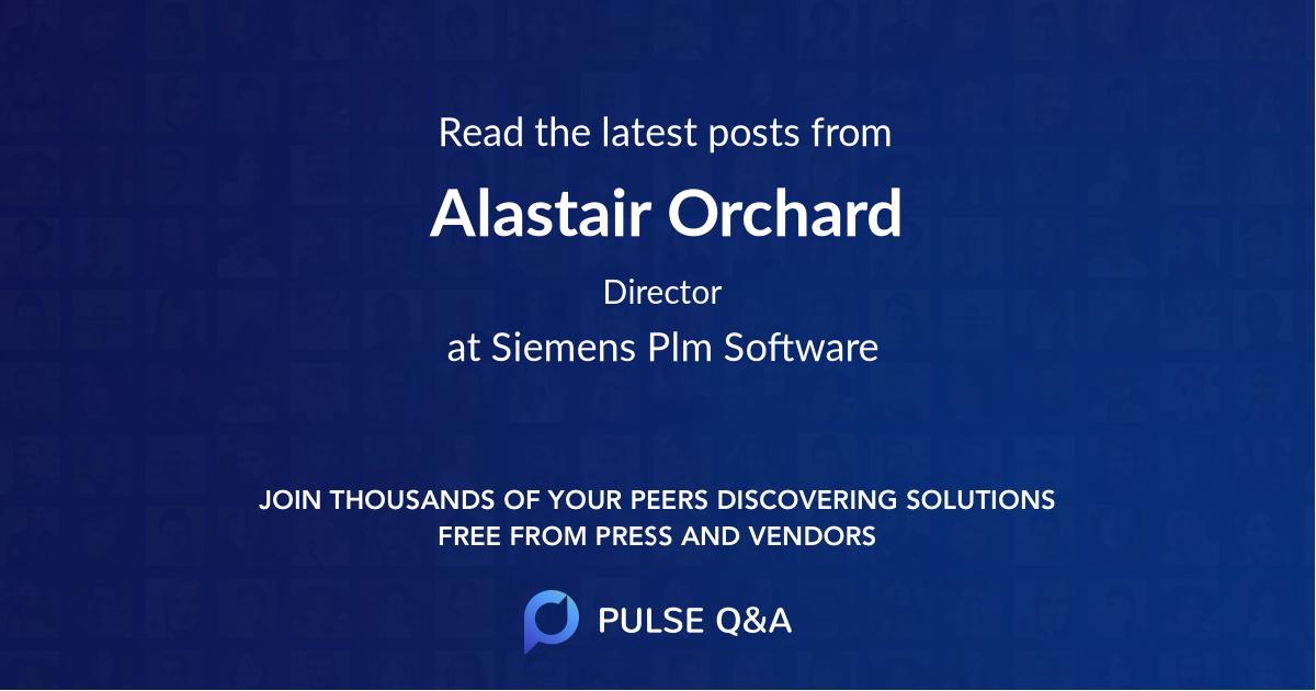 Alastair Orchard