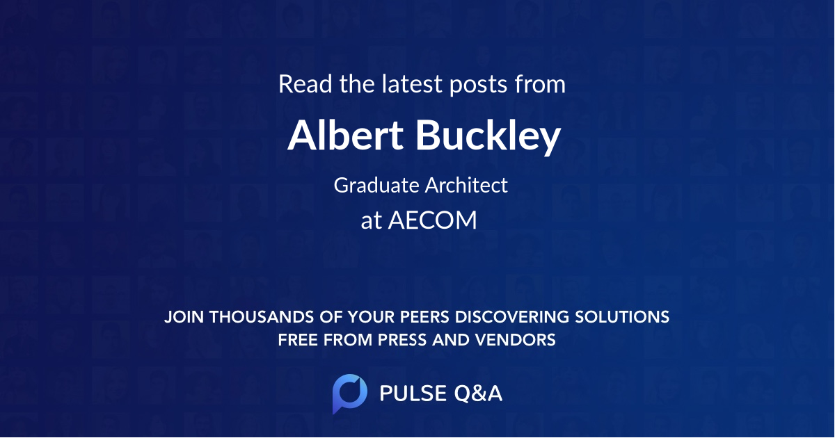 Albert Buckley