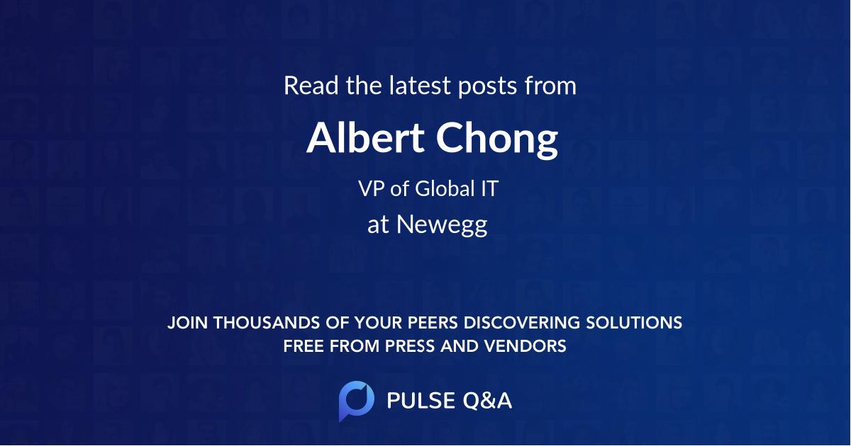 Albert Chong