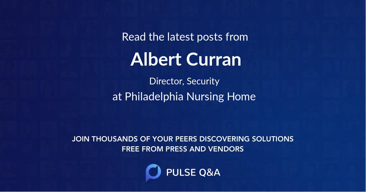 Albert Curran