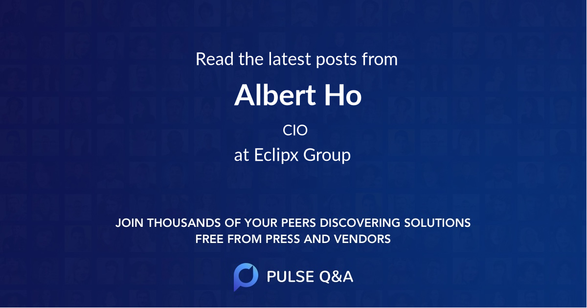 Albert Ho