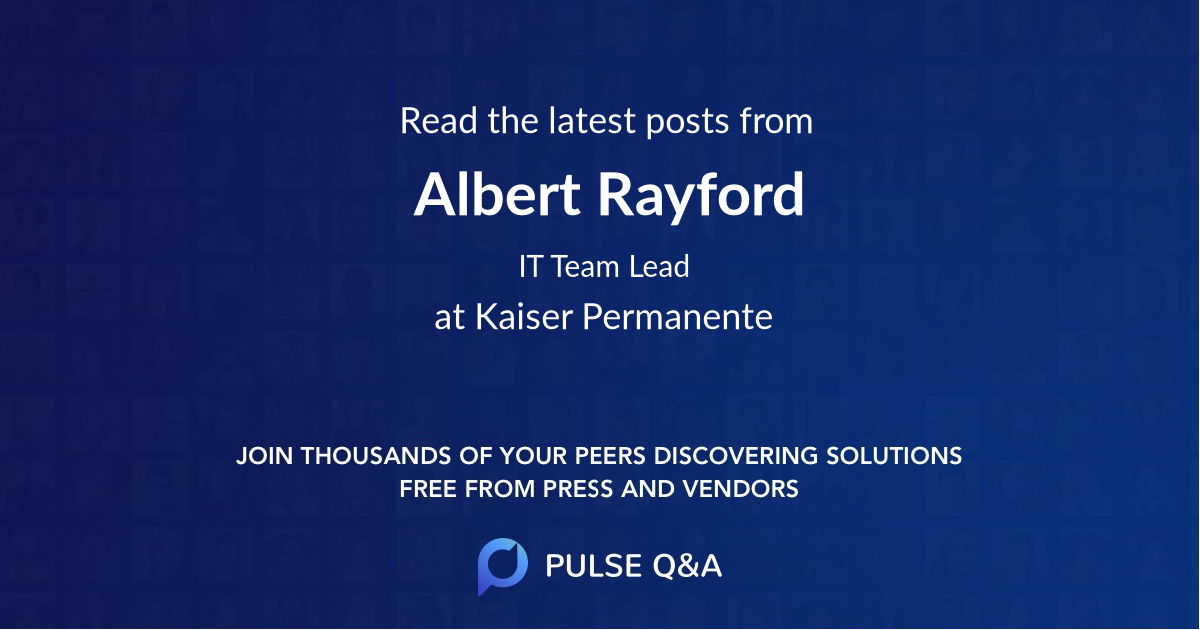 Albert Rayford