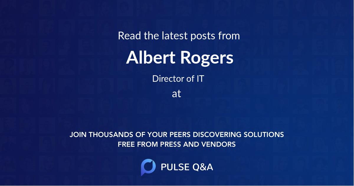 Albert Rogers