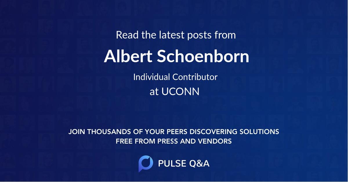 Albert Schoenborn