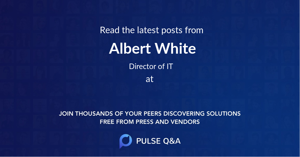 Albert White