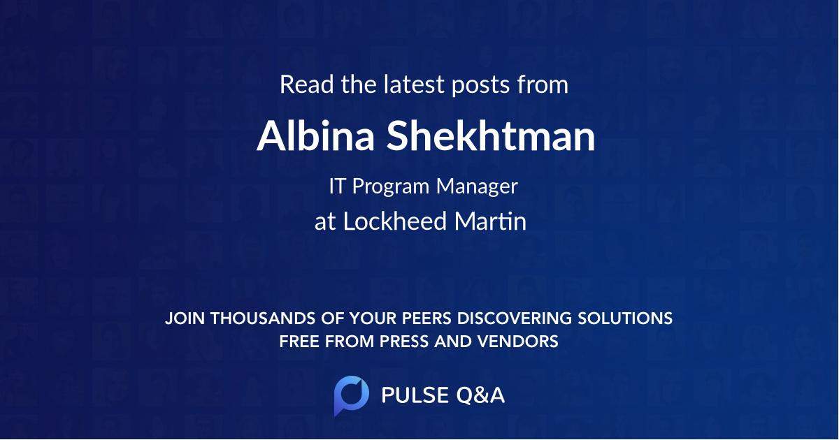 Albina Shekhtman