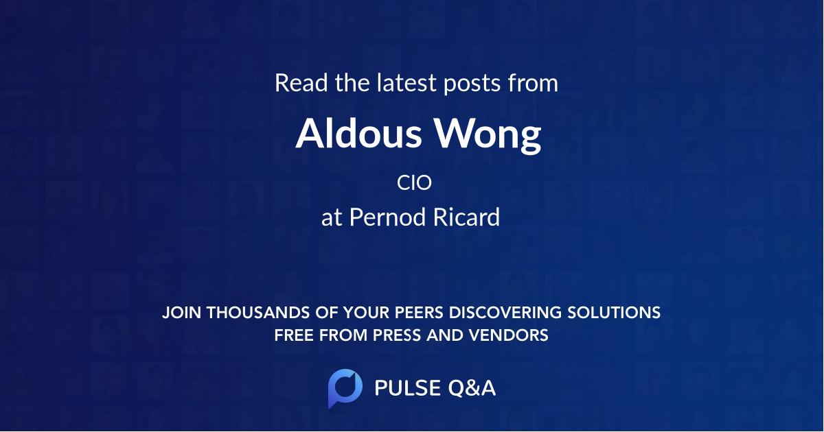 Aldous Wong