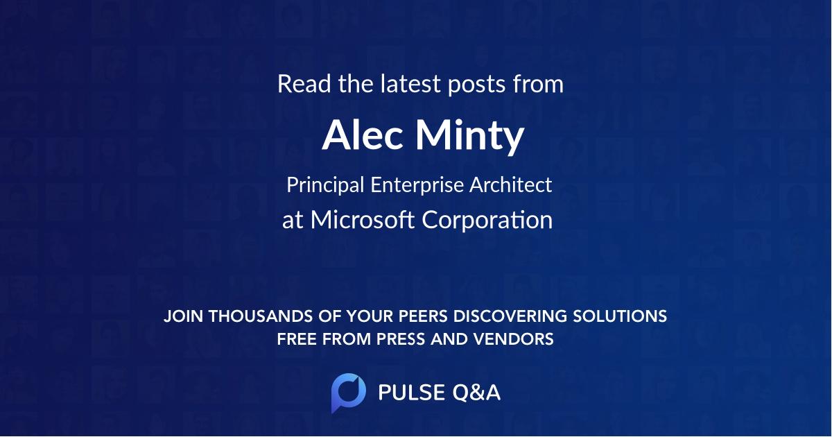 Alec Minty