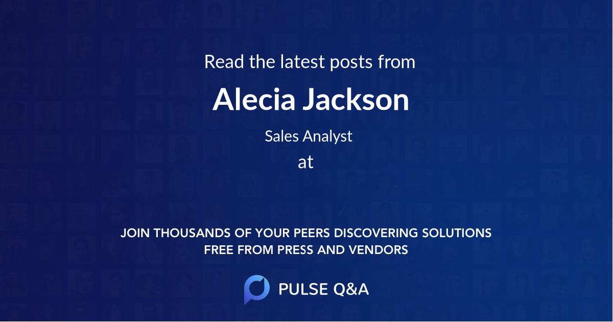Alecia Jackson