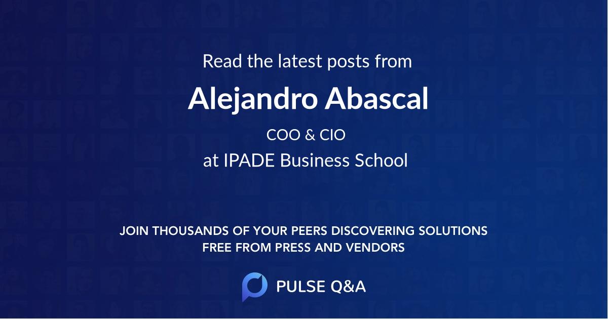 Alejandro Abascal