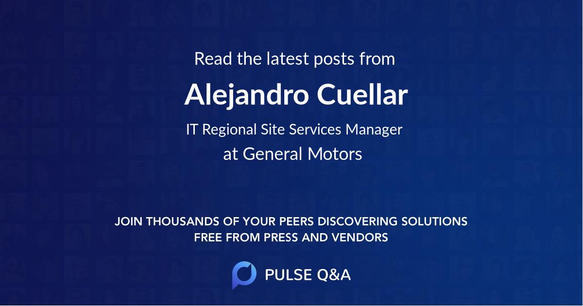 Alejandro Cuellar