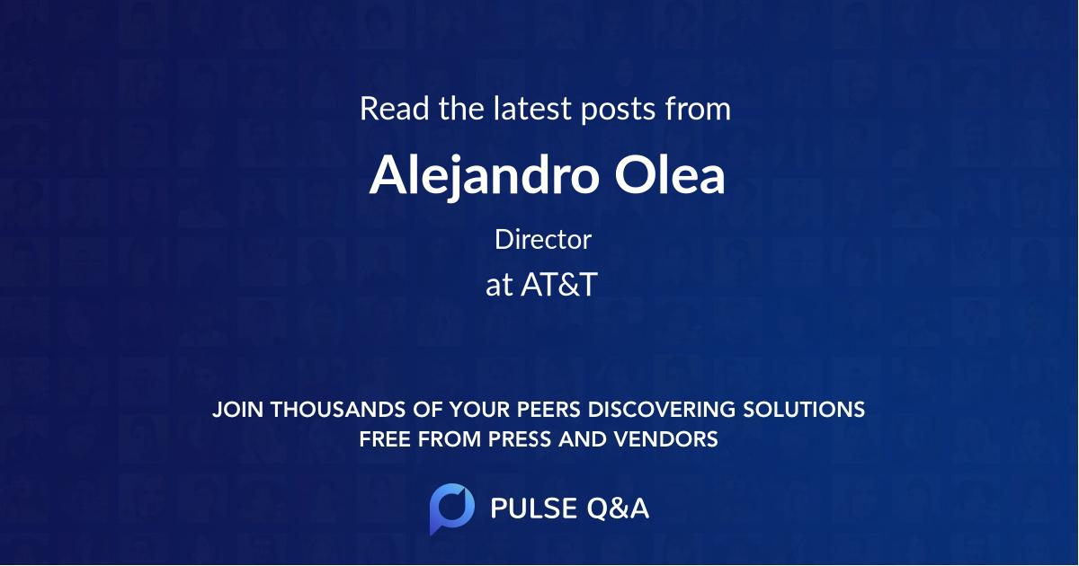 Alejandro Olea