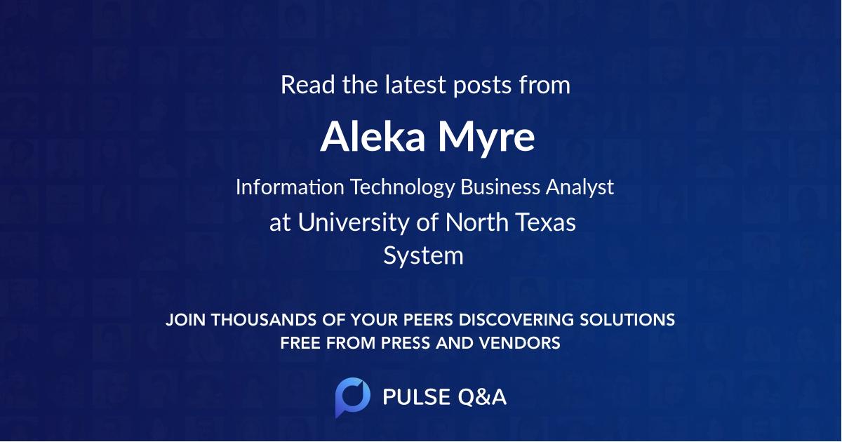 Aleka Myre