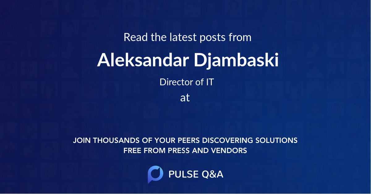 Aleksandar Djambaski