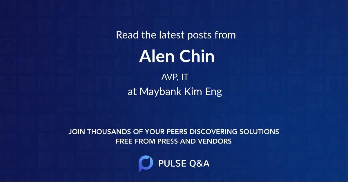 Alen Chin