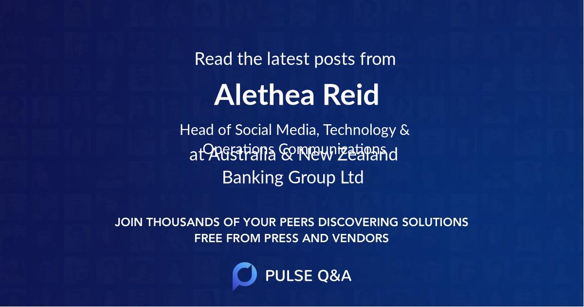 Alethea Reid