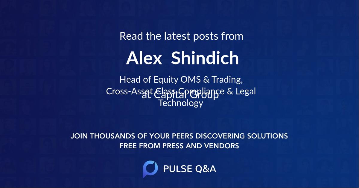Alex  Shindich