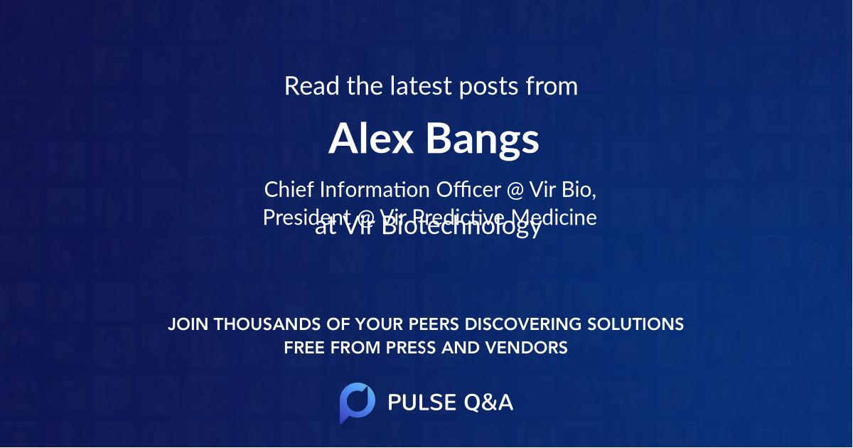 Alex Bangs
