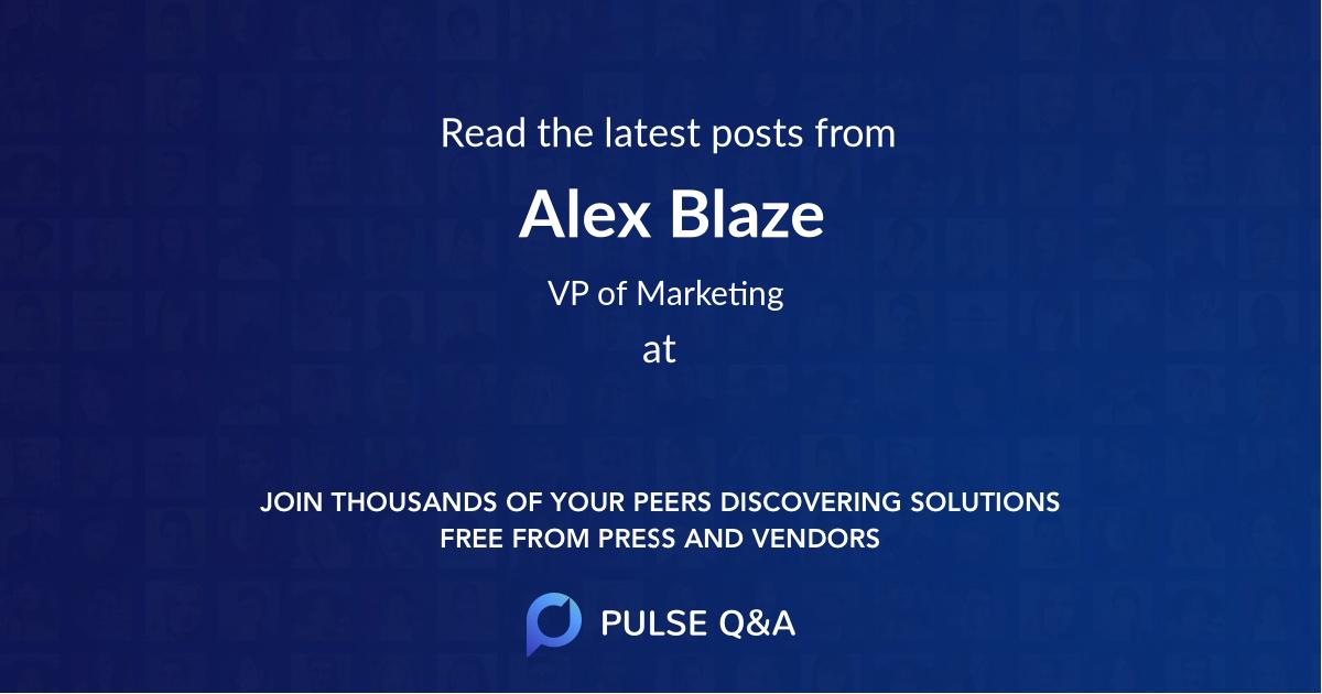 Alex Blaze
