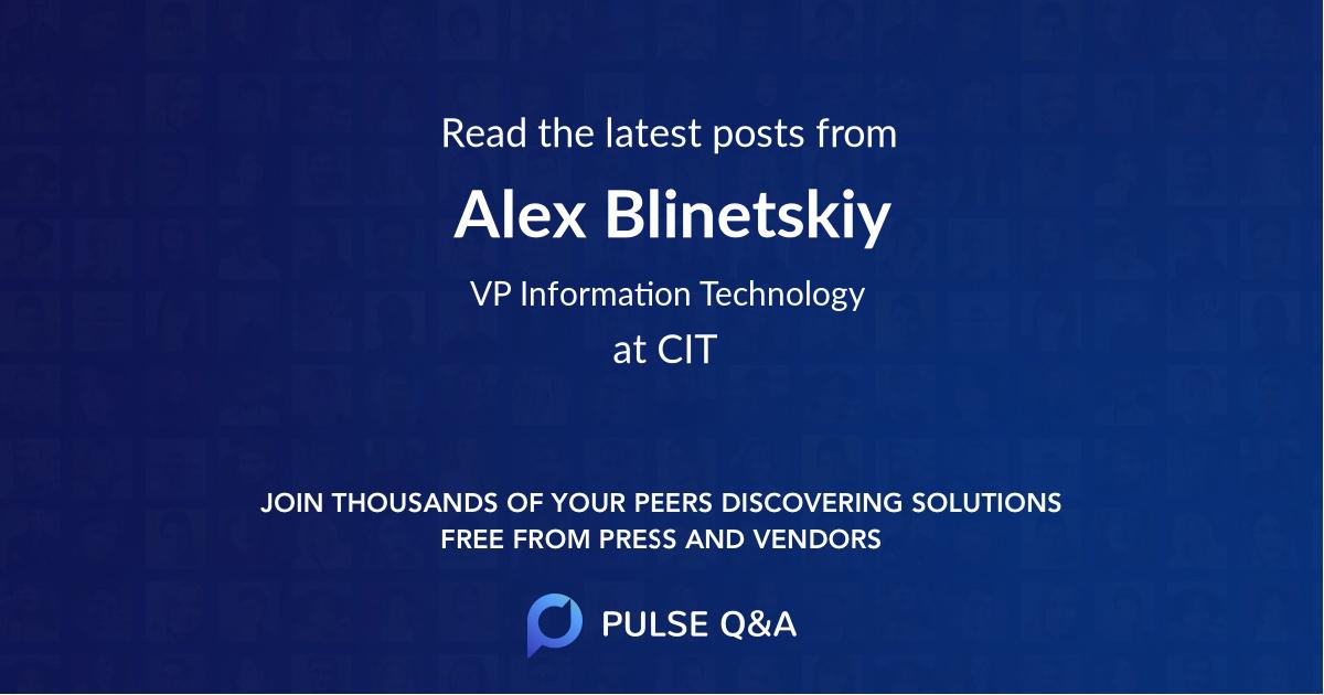 Alex Blinetskiy
