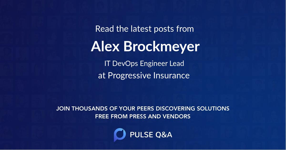Alex Brockmeyer