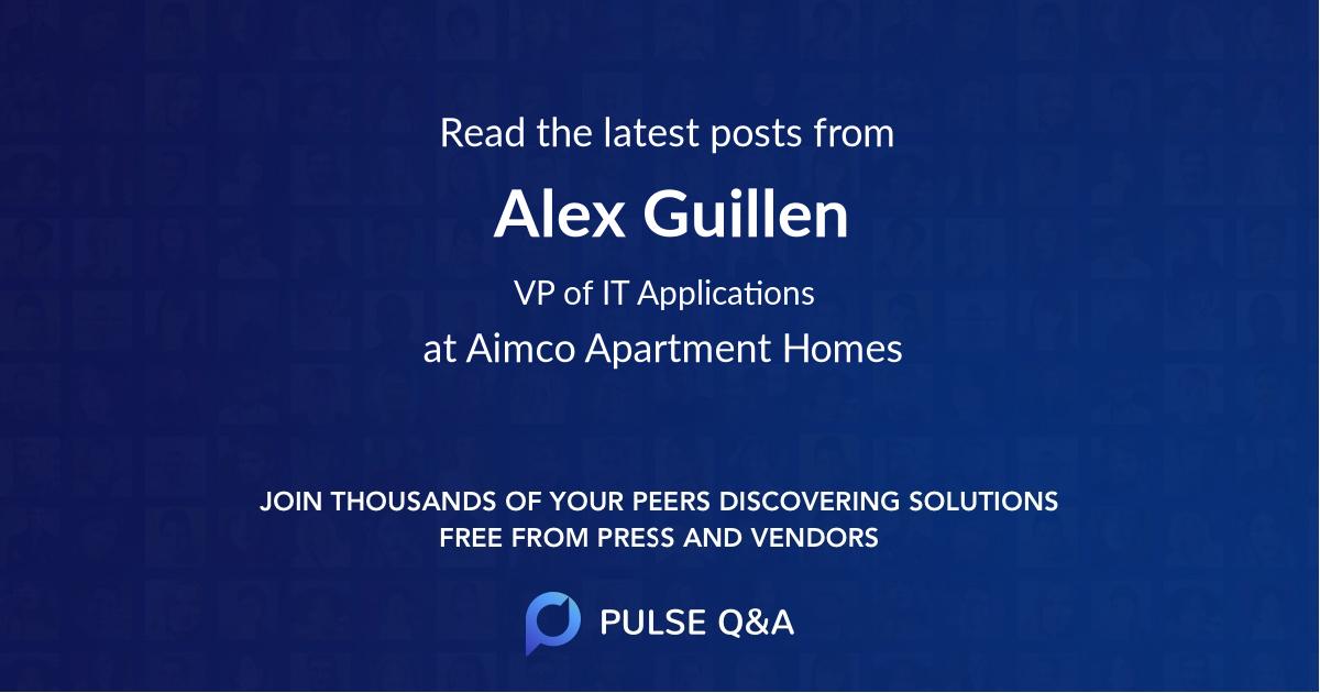 Alex Guillen